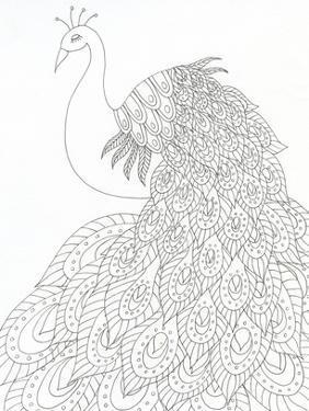 Peacock Queen by Pam Varacek