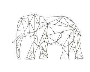 Poly Elephant by Pam Varacek