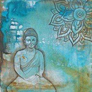 Serenity Buddha I by Pam Varacek