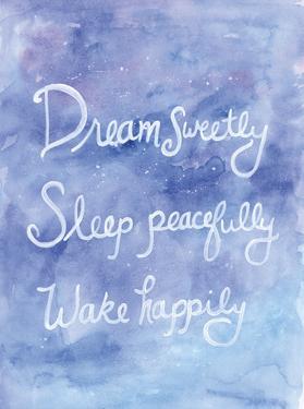 Sleepy Galaxy by Pam Varacek