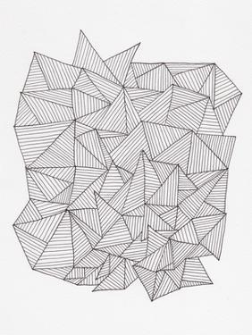 Triangle Jungle 1 by Pam Varacek