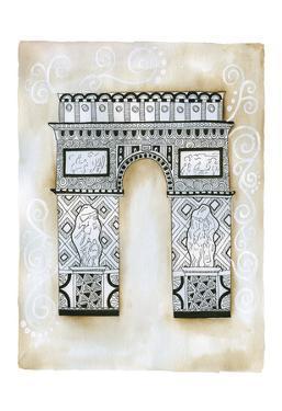 Triomphe Scroll by Pam Varacek