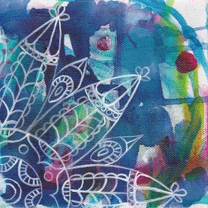 Tubular Flower 2 by Pam Varacek
