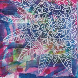 Tubular Flower 3 by Pam Varacek