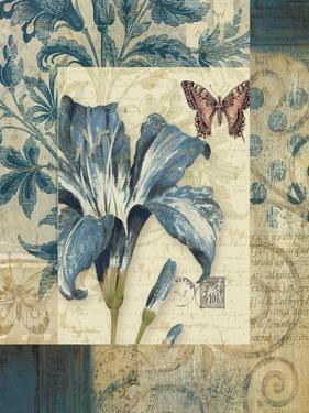 Blue Moods Lily by Pamela Gladding