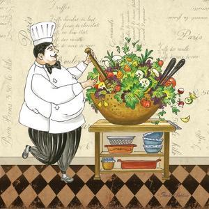 Chef Salad by Pamela Gladding