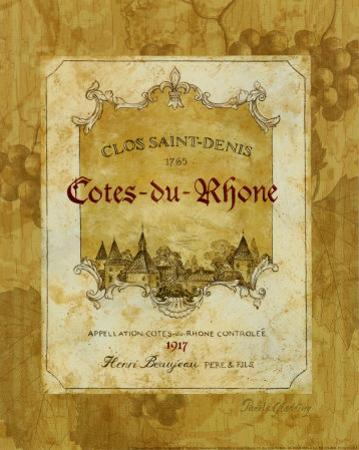 Cotes du Rhone by Pamela Gladding