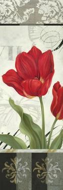 Etude en Rouge Panel II by Pamela Gladding