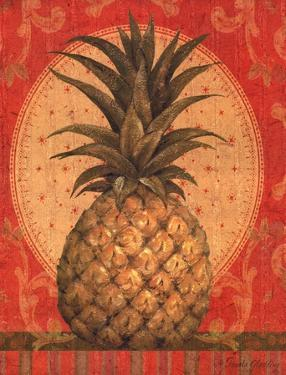 Grand Pineapple Red by Pamela Gladding