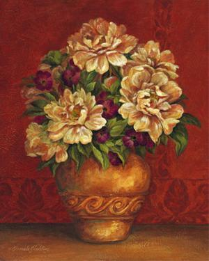 Tuscan Peonies by Pamela Gladding