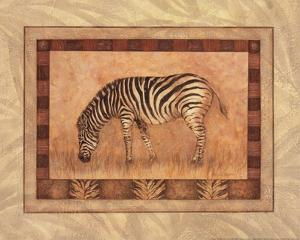 Zebra - mini by Pamela Gladding