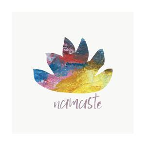 Namaste Lotus by Pamela J.