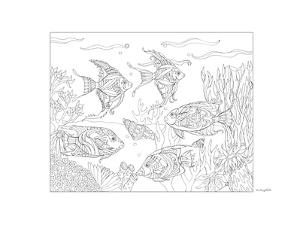 Angel Fish by Pamela J. Smart
