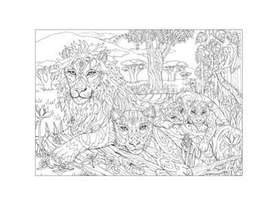 Lion - the King's Peace by Pamela J. Smart