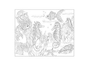 Sea Horsing Around by Pamela J. Smart