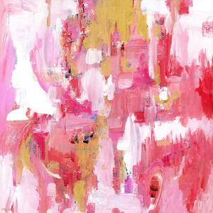 Abstract Dream Pink Gold by Pamela J. Wingard