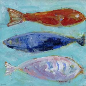 Boys Nautical Fish by Pamela J. Wingard