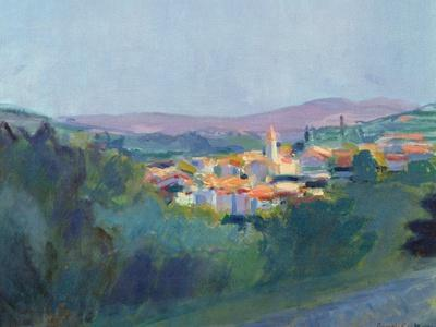 Evening Light in Provence, 1992
