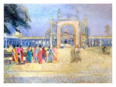 Maharajah's Palace, Mysore, 1995