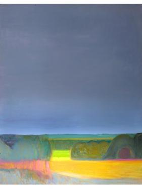 Prospect, Malvern Diptych 2, 1998 by Pamela Scott Wilkie