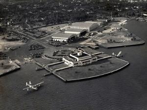 Pan Am Seaplane Base, Dinner Key, Florida, 1930S