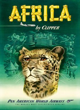 Pan American: Africa by Clipper, c.1950