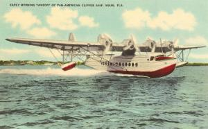 Pan-American Clipper Taking Off, Florida
