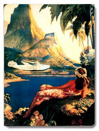 Pan American Fly To South Sea