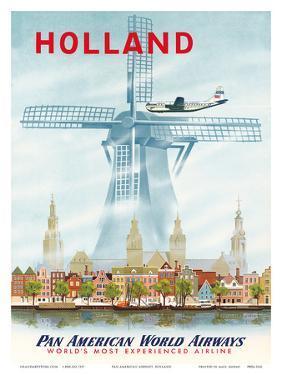 Pan American: Holland, c.1951