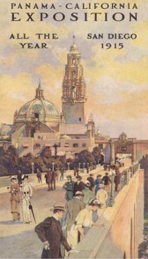 Panama Exposition Poster, San Diego, California