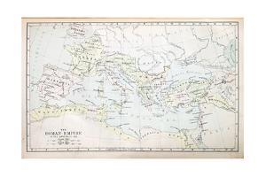 Roman Empire Map by pancaketom