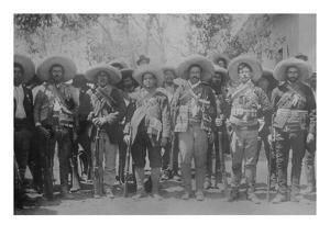 Pancho Villa and Staff
