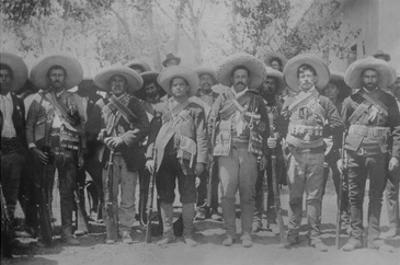 Pancho Villa and Staff