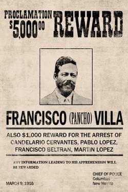 Pancho Villa Wanted