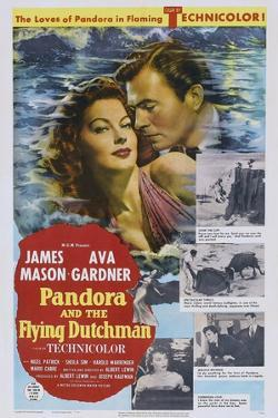 Pandora and the Flying Dutchman, from Left: Ava Gardner, James Mason, 1951