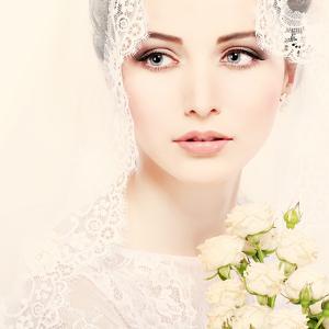 Portrait of Beautiful Bride by Pandorabox