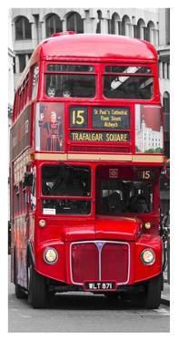 Double-Decker bus, London by Pangea Images