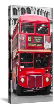 Double-Decker bus, London by Pangea Images