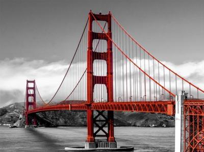 Golden Gate Bridge, San Francisco by Pangea Images