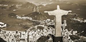 Overlooking Rio de Janeiro, Brazil by Pangea Images