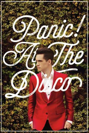 Panic At The Disco- Green Ivy & Red Suit