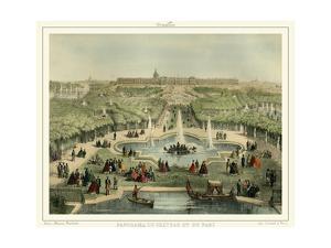 Panorama Du Chateau et Du Parc