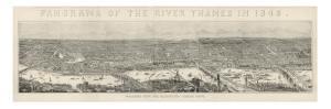 Panorama of London 1845