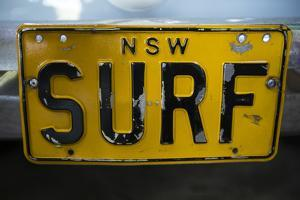 Close-up of License Plate, Australia by Panoramic Images