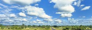 Clouds over landscape, Kruger National Park, South Africa by Panoramic Images