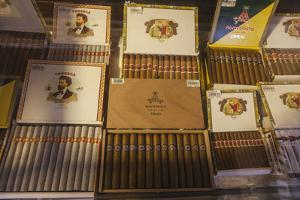 Cuban cigars on display, Havana, Cuba by Panoramic Images
