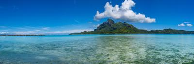 Islands in the Pacific Ocean, Bora Bora, Tahiti, French Polynesia by Panoramic Images