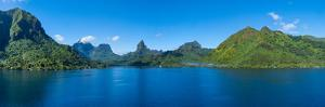 Islands in the Pacific Ocean, Opuhunu Bay, Moorea, French Polynesia by Panoramic Images