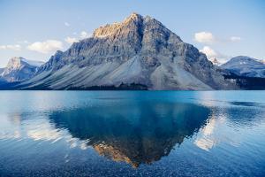 Mountain reflecting in lake at Banff National Park, Banff, Alberta, Canada by Panoramic Images