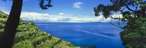 Scenic view of Lake Titicaca, Sun Island, Peru by Panoramic Images